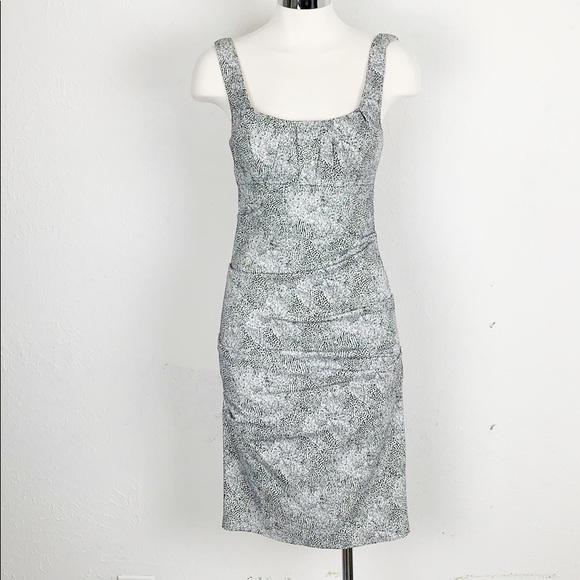 Nicole Miller Dresses & Skirts - Nicole Miller Black & White Leopard Body Con Dress